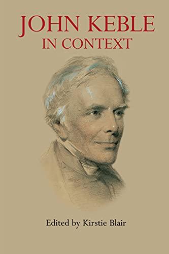 9781843311478: John Keble in Context (Anthem Nineteenth-Century Series)