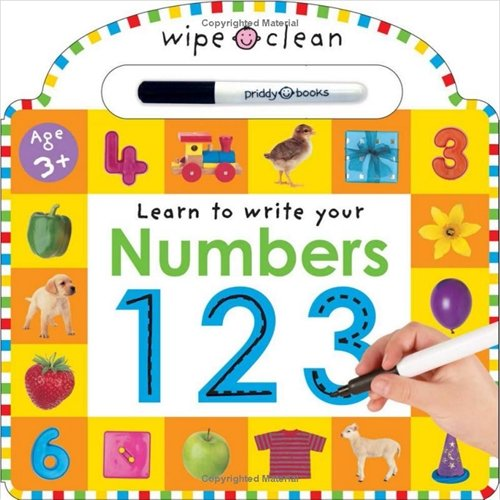 9781843321583: Wipe Clean Numbers (Wipe Clean Learning Books)