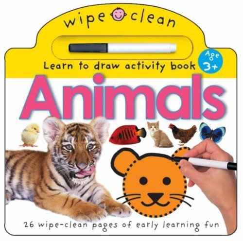 9781843322276: Wipe Clean - Animals