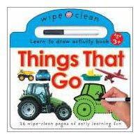 9781843322283: Wipe Clean - Things That Go