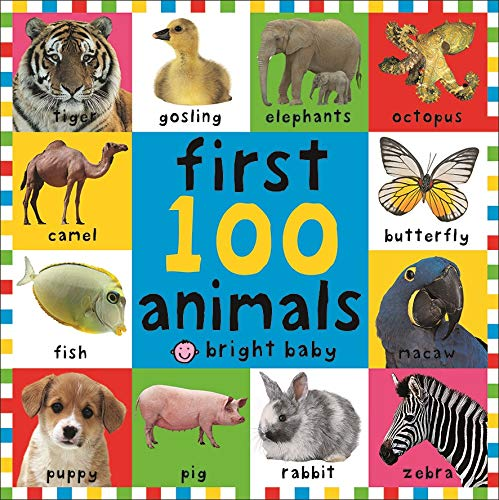 9781843323440: FIRST 100 ANIMALS TD (Bright Baby First 100)