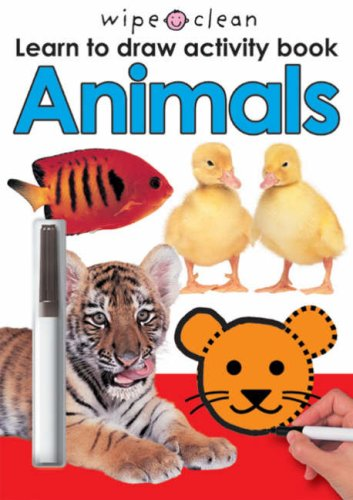 9781843324119: Wipe Clean Early Learning Activity Book Animals