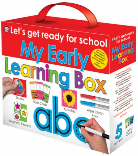 9781843324263: My Early Learning Box (Let's Get Ready for School)