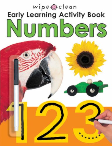 9781843324362: Wipe Clean Early Learning Activity: Numbers