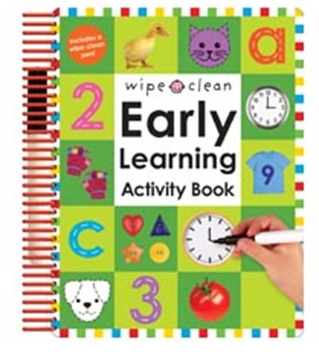 9781843324379: Wipe Clean Early Learning Activity Book