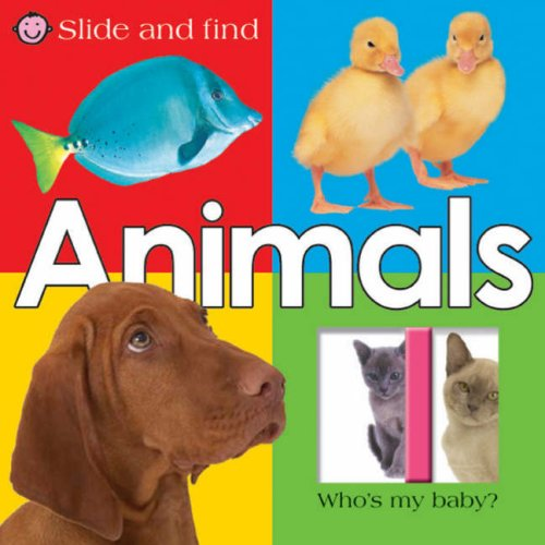 9781843324409: Slide and Find Animals