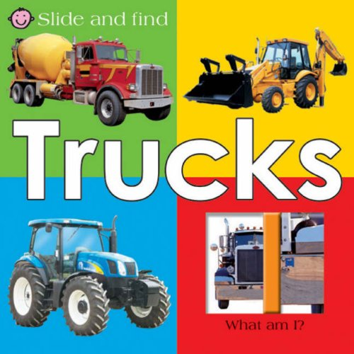 9781843324416: Slide and Find Trucks