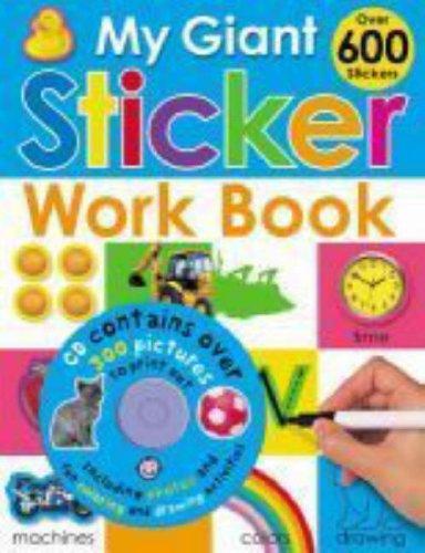 9781843325383: My Giant Sticker Work Book
