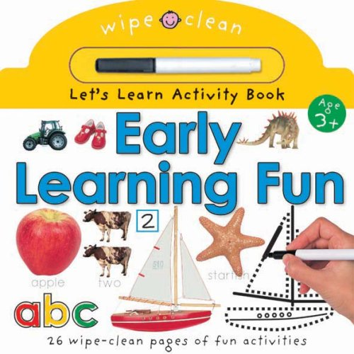 9781843325451: Let's Learn Activity: Early Learning Fun (Wipe Clean Let's Learn Activity Books)