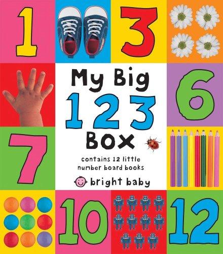 9781843325550: My Big 123 Box