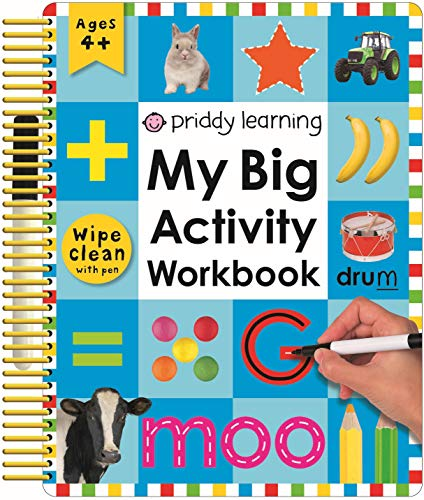 Wipe Clean My Big Activity Work Book: Priddy, Roger
