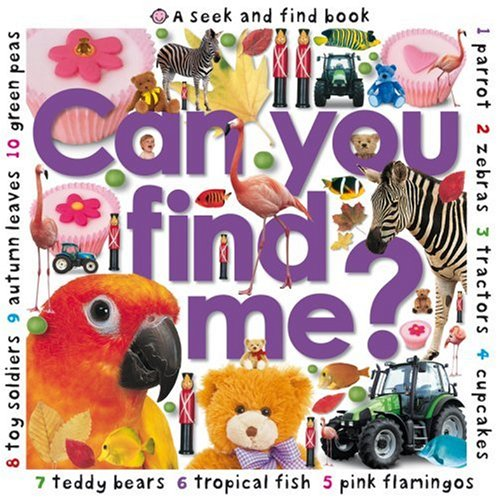 9781843325833: A Seek and Find Book: Can You Find Me?