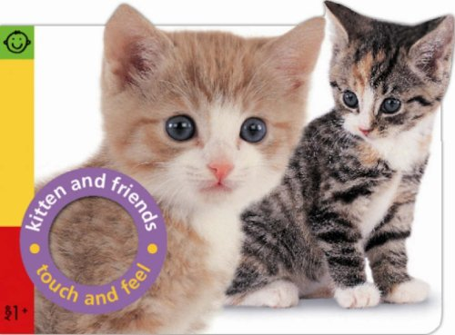 9781843326397: Touch and Feel Kitten and Friends (Pancake Touch and Feel)