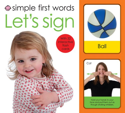 9781843327592: Simple First Words Let's Sign