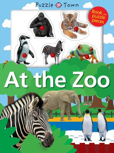 9781843327639: At The Zoo: Fold Out Treasure Hunt