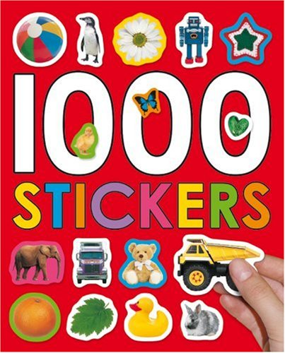 9781843327752: 1000 Stickers