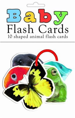 9781843327998: Baby Flash Cards Animals