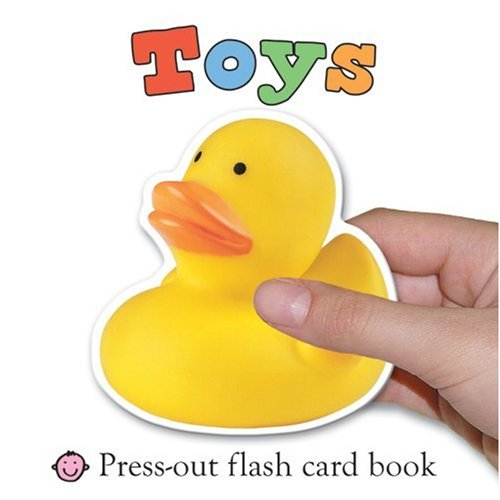 9781843328551: Toys (First Words Flash Card Books)