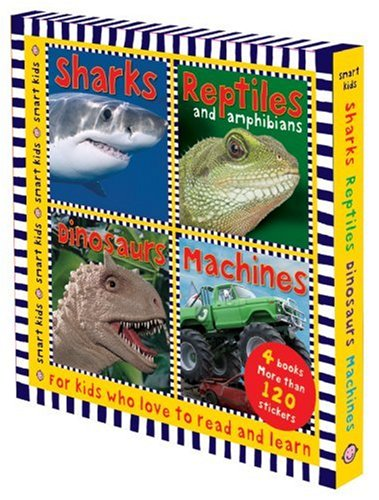 Smart Kids Sticker Books Slipcase (1843328801) by Roger Priddy