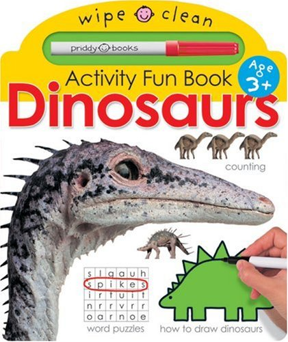 Wipe Clean Activity Fun Dinosaurs: Roger Priddy