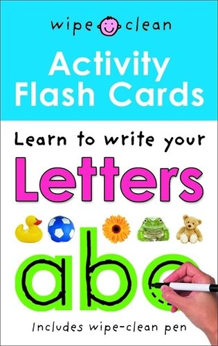 9781843328896: Letters ABC Flashcards (Wipe Clean Activity)
