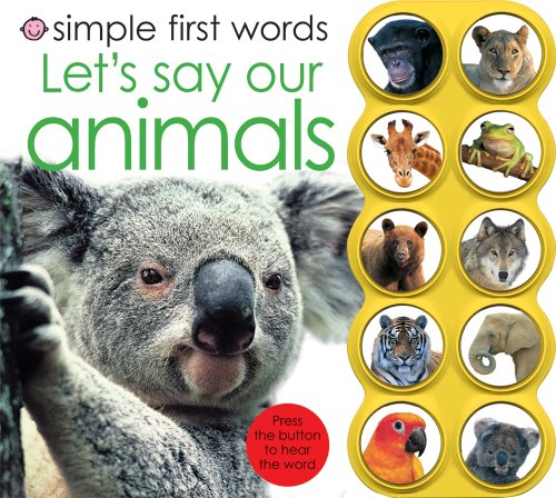 9781843328926: Simple First Words Let's Say Our Animals