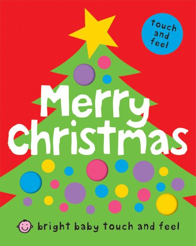 9781843328995: Bright Baby Touch and Feel Merry Christmas