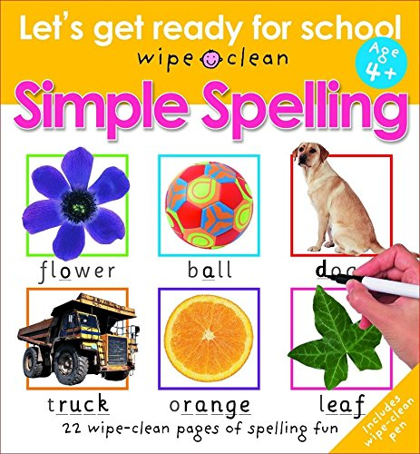 Simple Spelling (Let's Get Ready for School): Priddy, Roger