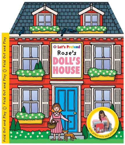 9781843329718: Let's Pretend Rose's Doll's House