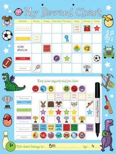 9781843329756: Blue Reward Chart: Big & Busy Reward Chart
