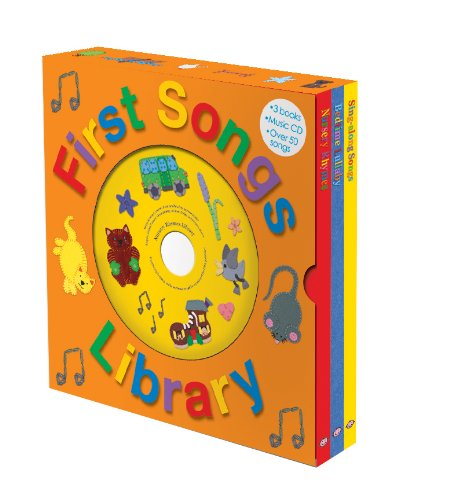 9781843329879: First Songs Library with CD