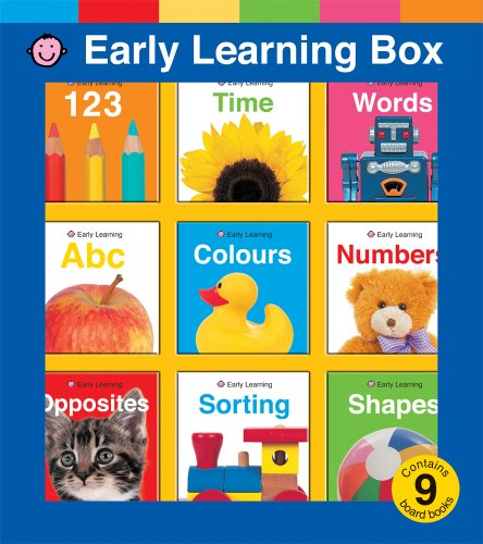 9781843329886: My Early Learning Box (Let's Get Ready for School)
