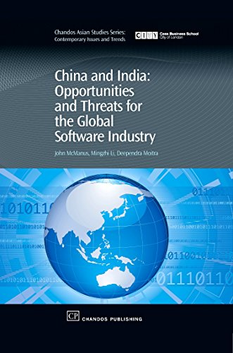 9781843341581: China and India: Opportunities and Threats for the Global Software Industry (Chandos Asian Studies Series)