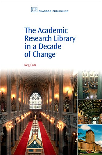 9781843342465: The Academic Research Library in A Decade of Change (Chandos Information Professional Series)