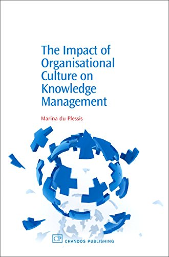 The Impact of Organisational Culture On Knowledge Management (Chandos Knowledge Management): Du ...