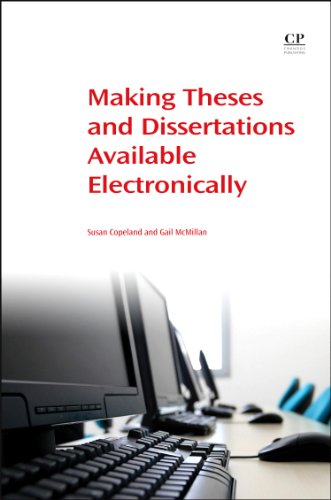 Making Theses and Dissertations Available Electronically (Chandos Information Professional Series) (184334341X) by Copeland, Susan; McMillan, Gail