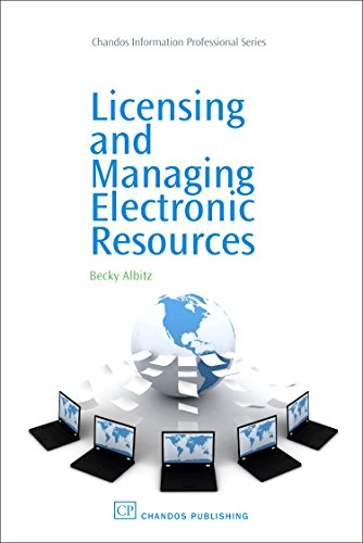 9781843344322: Licensing and Managing Electronic Resources (Chandos Information Professional Series)