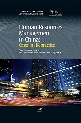 9781843345527: Human Resources Management in China: Cases in HR Practice (Chandos Asian Studies Series)