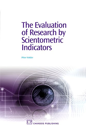 The Evaluation of Research by Scientometric Indicators: Peter Vinkler