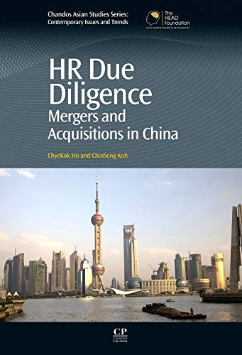 9781843346579: HR Due Diligence: Mergers and Acquisitions in China (Chandos Asian Studies Series)