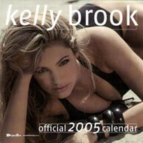 9781843354642: Official Kelly Brook Calendar 2005