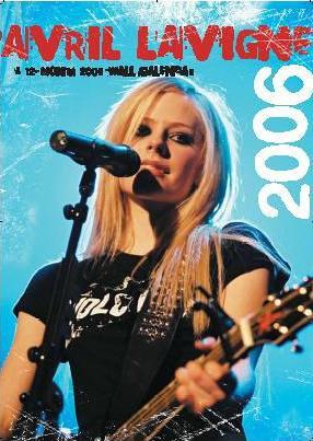 9781843355496: Official Avril Lavigne Calendar 2006