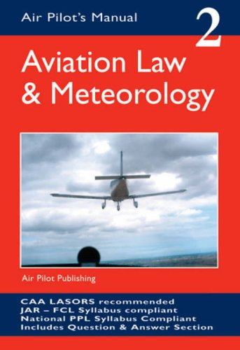 9781843360667: Aviation Law and Meteorology (Air Pilot's Manual)