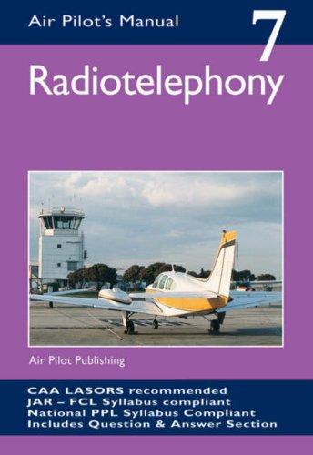 Radiotelephony (Air Pilot's Manual): Thom, Trevor