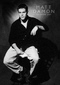 9781843374374: Matt Damon Calendar 2006 (Wall Calendar)