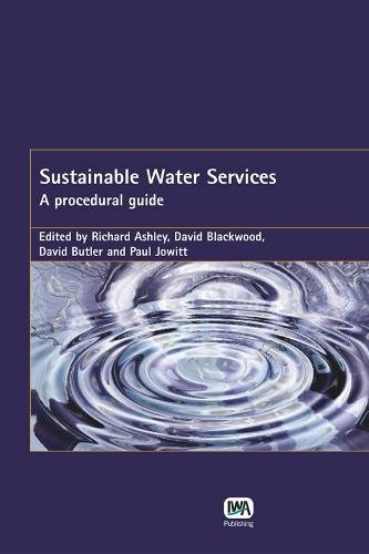 9781843390657: Sustainable Water Services
