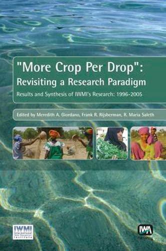 More Crop per Drop : Revisiting a