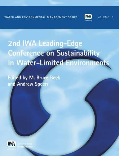 2nd Iwa Leading-Edge on Sustainability in Water-Limited: Beck