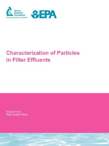 9781843398226: Characterization of Particles in Filter Effluents (Water Research Foundation Report)