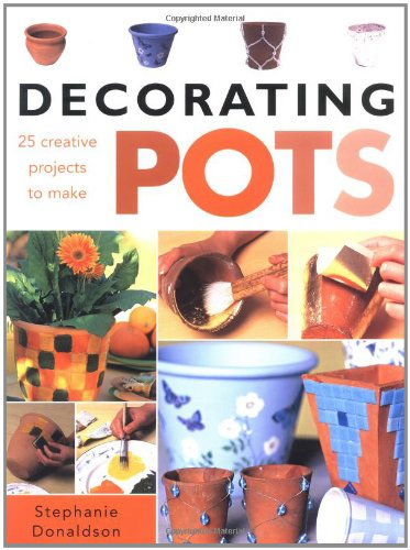 9781843401063: Decorating Pots: 25 Creative Projects to Make